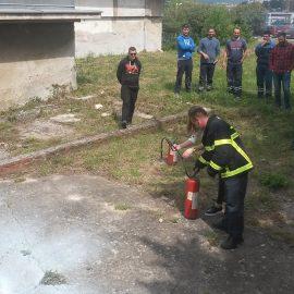 Obuka radnika Vodovoda i kanalizacije d.o.o. Split.