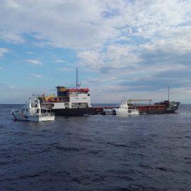 Spriječavanje ekološke katastrofe uslijed havarije na turskom brodu MV Haksa
